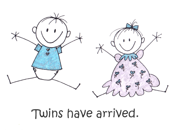 Baby Twins - VIP Kids Cards